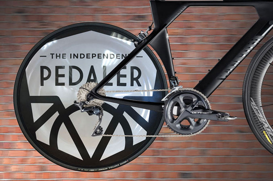 Mickle Creative Solutions - The Independent Pedaler TT Bike Disc Wheel