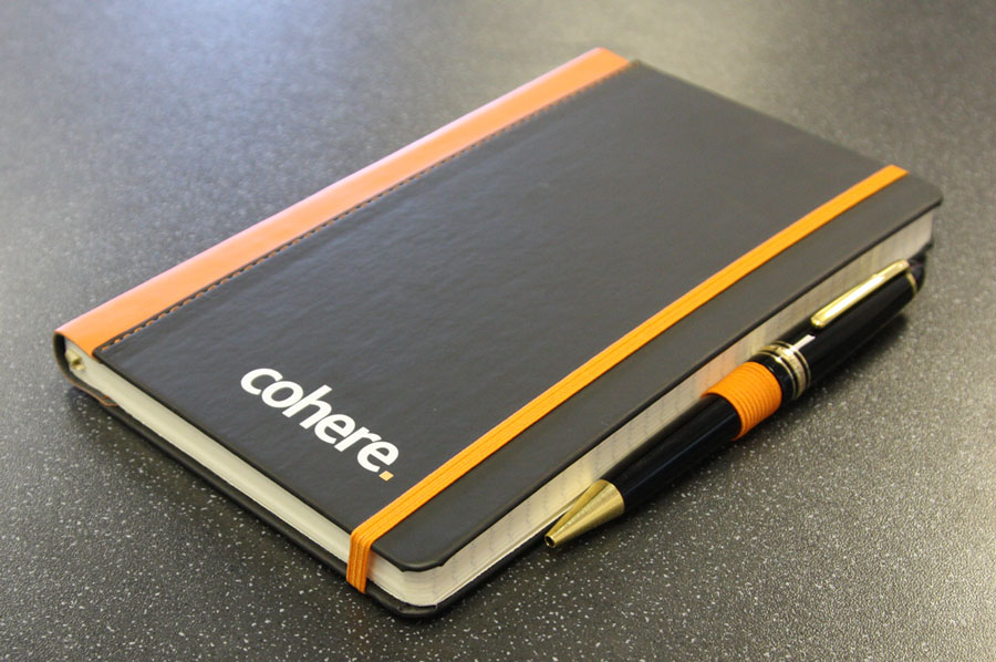 Mickle Creative Solutions - Cohere notebook branding