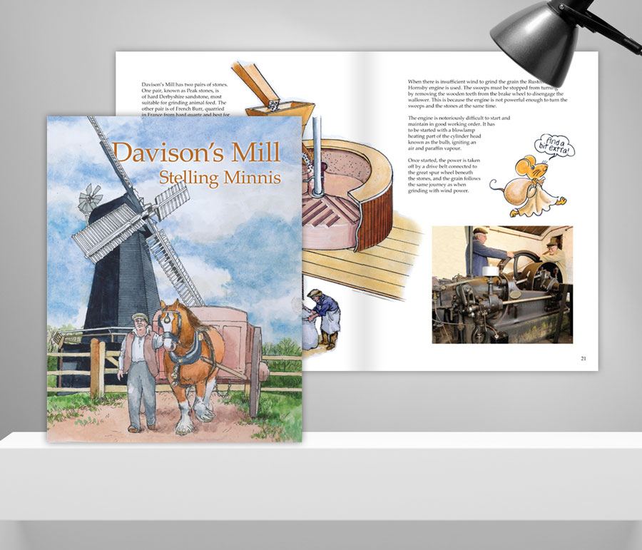 Mickle Creative Solutions - Davison's Mill Book