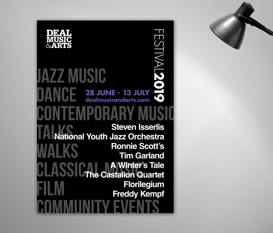 Mickle Creative Solutions - DMA Festival poster