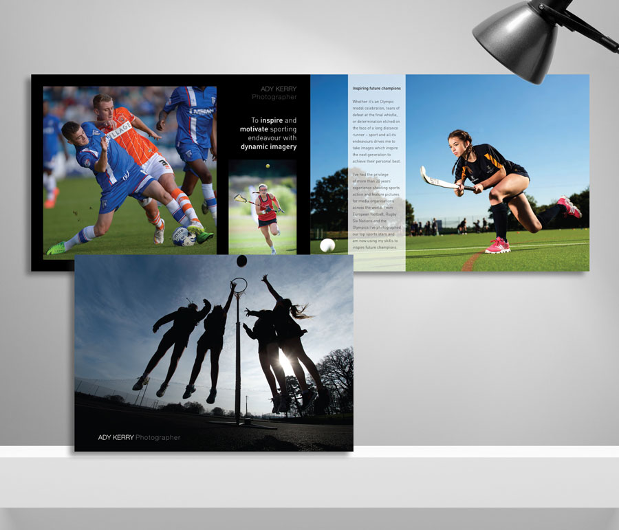Mickle Creative Solutions - Ady Kerry brochure design