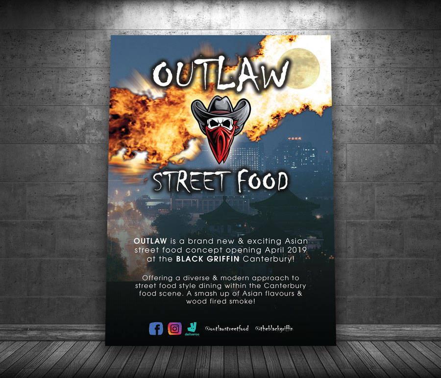 Outlaw Street Food poster