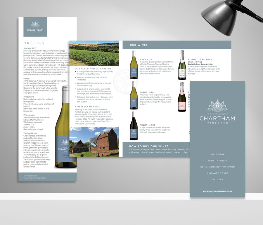 Mickle Creative Solutions - Chartham Vineyard