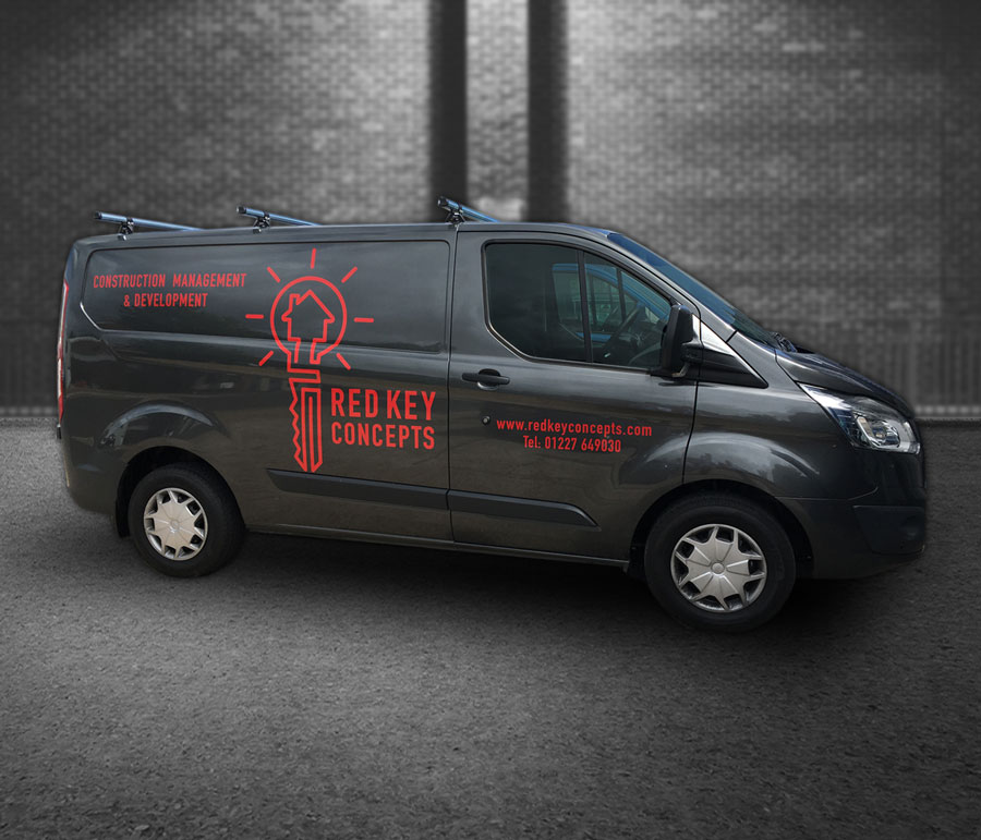 Mickle Creative Solutions - Red Key Concepts van