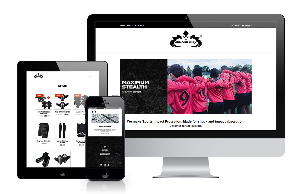 armourflexsport.com built by Mickle Creative Solutions