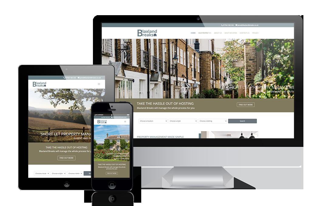 blaxlandbreaks.co.uk by Mickle Creative Solutions