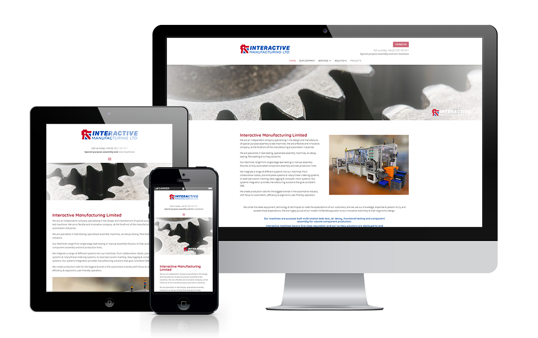 interactivemanufacturing.com by Mickle Creative Solutions